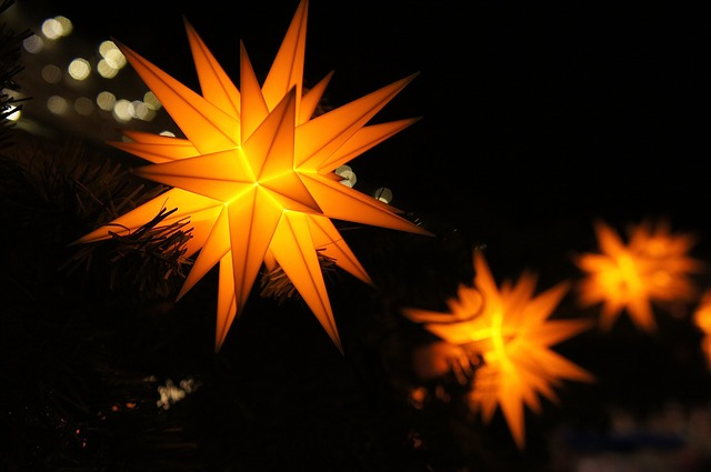 Vianočná svetelná rozprávka