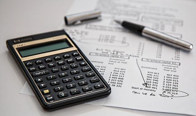 výpočty na kalkulačce
